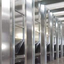 impianto silos in linea