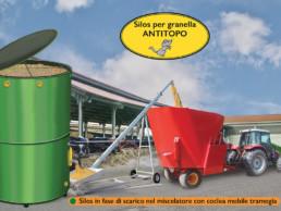 Silos granella antitopo